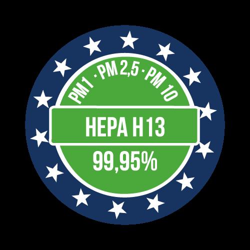 Filtri certificatiStandard europeo(EN-1822-1:2019)